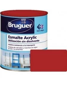 ESMALTE ACRYLIC BRILLO 0,250L BERMELLON